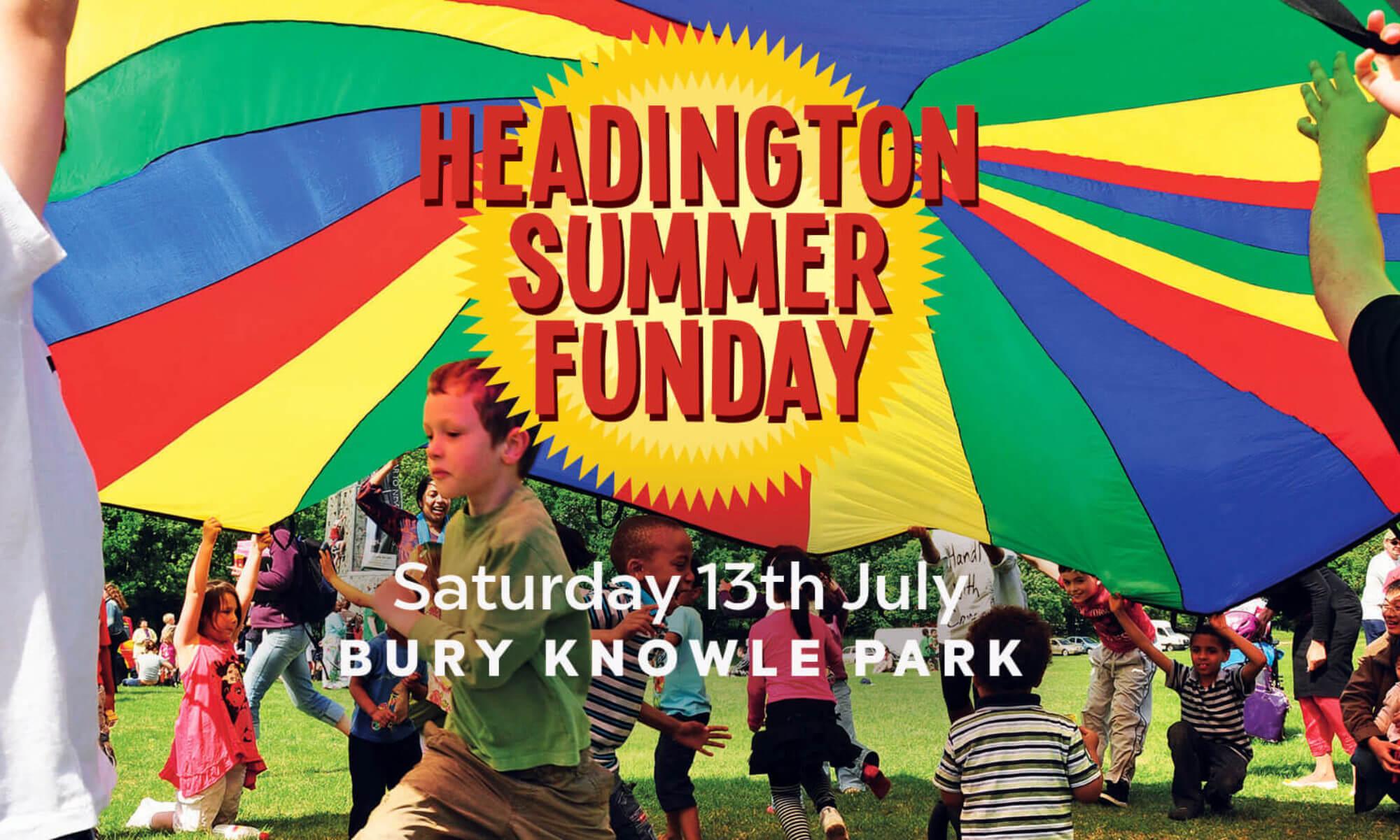 Headington Funday 2019, 13th July